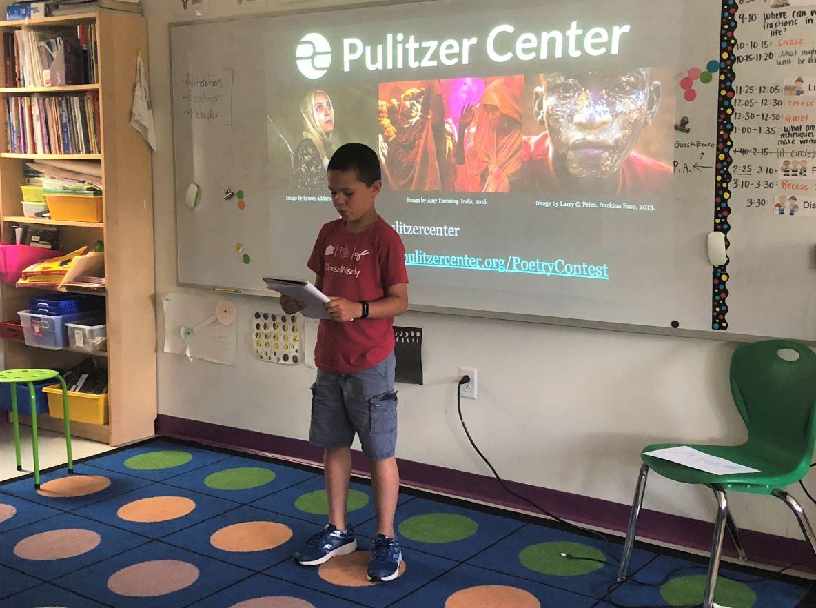 2019 Fighting Words poetry workshops | Pulitzer Center