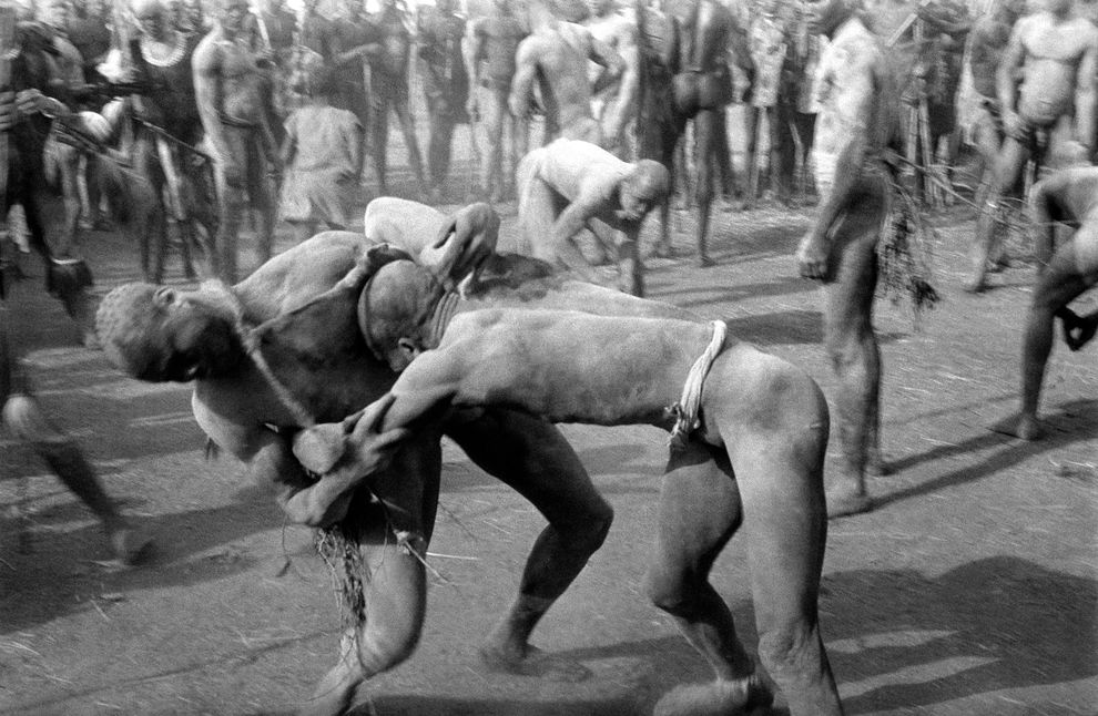 South Sudan Wrestling Identity Of The Nuba Pulitzer-6307