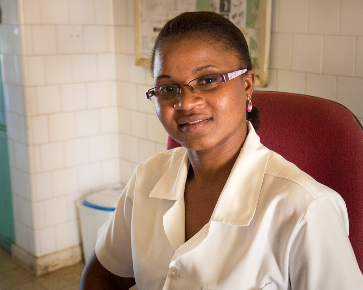 Mozambique Maternity Ward Health Workers