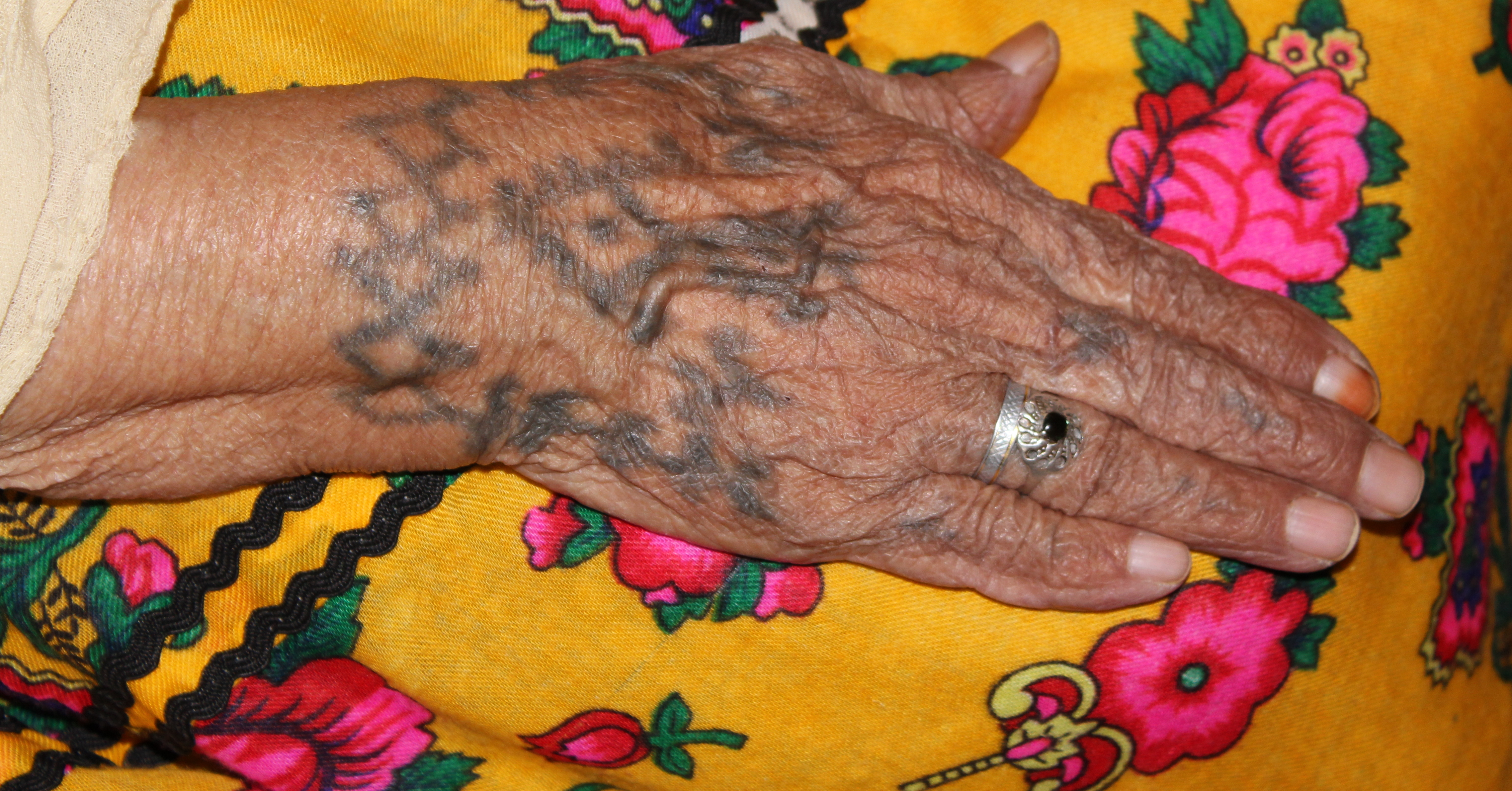 Algeria Tattoos Of Chaouia Women Pulitzer Center