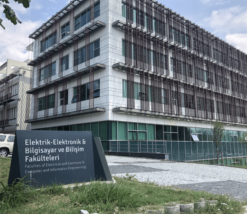 Istanbul Technical University's office of Computer and Information. Image by Shirin Alhroob. Turkey, 2019.