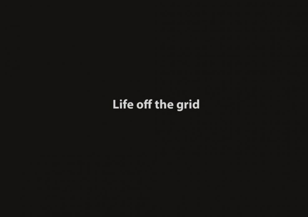 Life off the grid