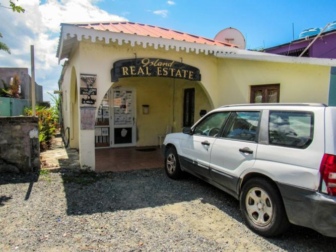 Island Real Estate, one of several real estate agencies on Vieques. Image by Isabel Sophia Dieppa. Puerto Rico, 2019.