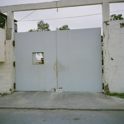 A Former Mexican Marine Base in Neuvo Laredo. Image by by Christopher Lee. Mexico, 2020.