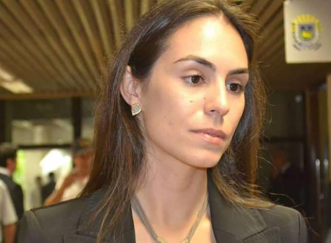 Luana Ruiz, the Bolsonaro administration's Assistant Secretary for Land Affairs in the Agriculture Ministry. Image courtesy of MAPA.<br />