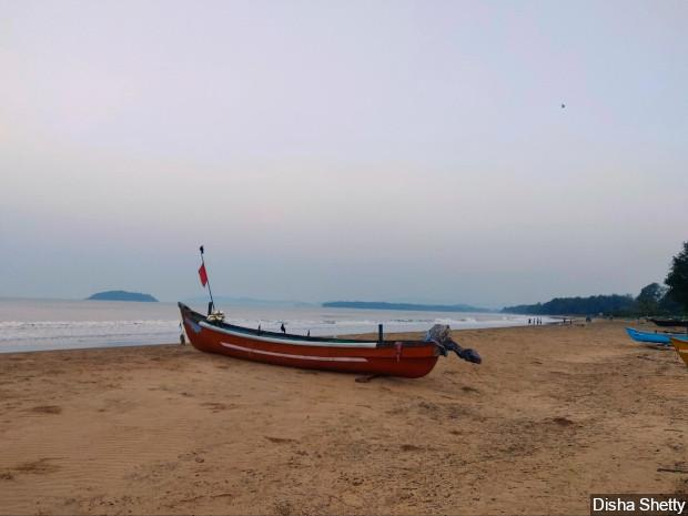 Fishing activities in Karwar face the dual threat of climate change and infrastructure projects. Image by Disha Shetty / IndiaSpend. India, 2020.