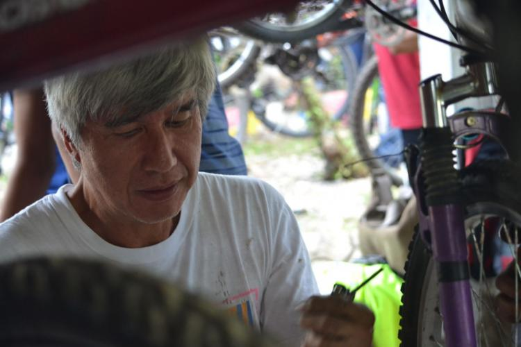 Joel Uichico is the president of Bikes for the Philippines Foundation. Since 2011, the organization has been donating second-hand bicycles to poor Grades 7 to 12 students living in rural areas. As a result, they can keep going to school and gain an education.