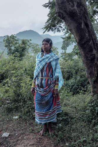 A woman in traditional Dongria dress. Image by Arko Datto. India, 2018.