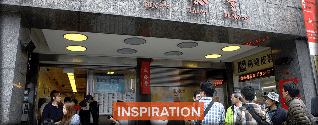 Din Tai Fung in Taipei is one of Mike Chen's favorites and an inspiration for Everyday Noodles. Image by Myra Lu. Taiwan, 2018.