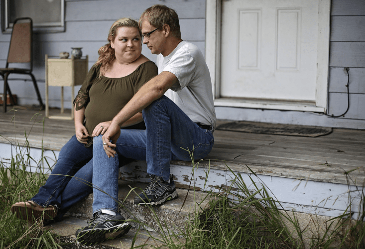 "Tulsa's Landlord Tenant Relief Program paid four months' rent for Jack and Beth Myers of Tulsa County. Jack, a Type 2 diabetic, quit his job as a welder amid fear of contracting COVID-19. Beth said the program ""took a lot of stress off ' the couple. Image by Mike Simons. United States, 2020."