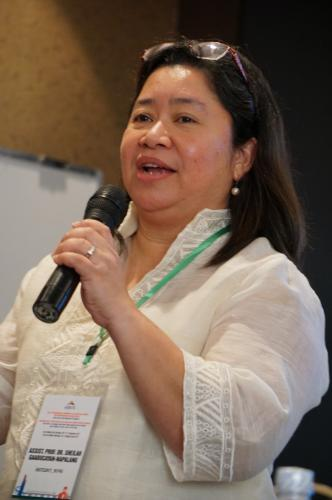 Ma. Sheilah G. Napalang, D. Eng., En. P., is the director of the National Center for Transportation Studies at the University of the Philippines, Diliman. The center has developed a road safety for children teaching kit. The kit aims to supplement the teaching module on road traffic safety for children at the Grade 6 level.