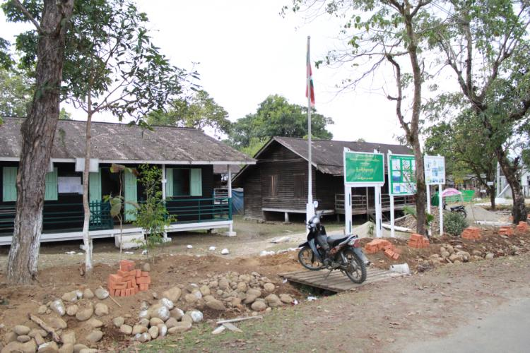 The Forest Department office in Puta-O, Myanmar. Image by Hkaw Myaw. Myanmar, undated.